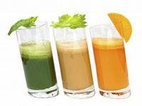 капустный сок, сок петрушки и лука